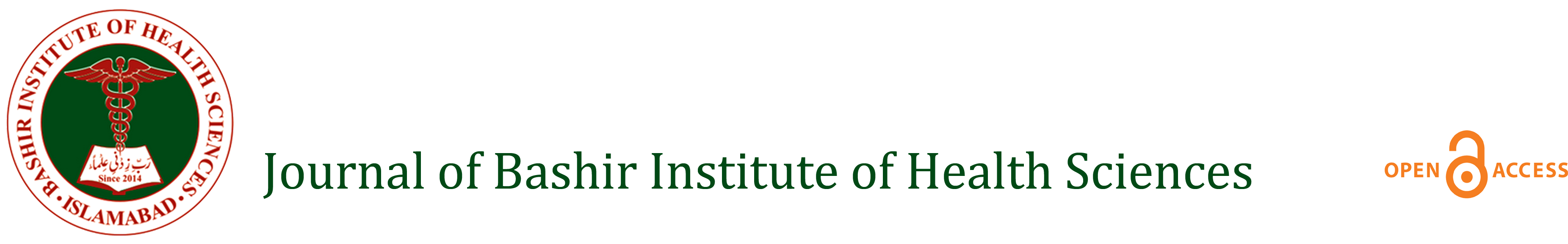 Journal of Bashir Institute of Health Sciences